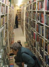 Choosing books from so many available